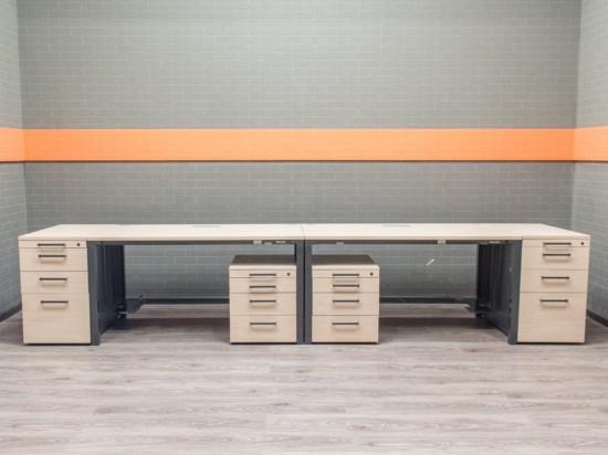 Офисная мебель бу Комплект столов Steelcase