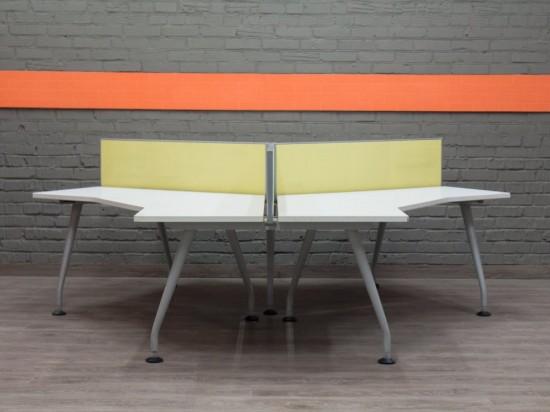 Стол офисный для трех сотрудников, Walter Knoll