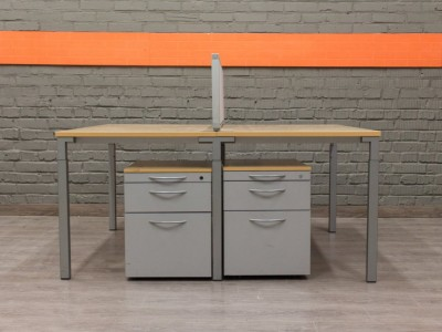 Бенч-система для двух сотрудников