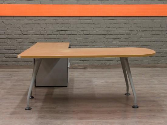Компьютерный стол с тумбой Офисная мебель бу Walter Knoll