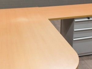 Компьютерный стол с тумбой, Walter Knoll