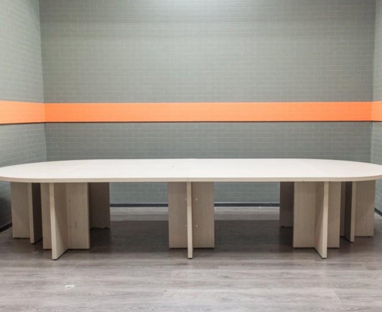Офисная мебель бу Стол для переговоров, дуб