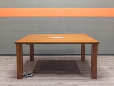 Стол для переговоров BENE квадратный, орех