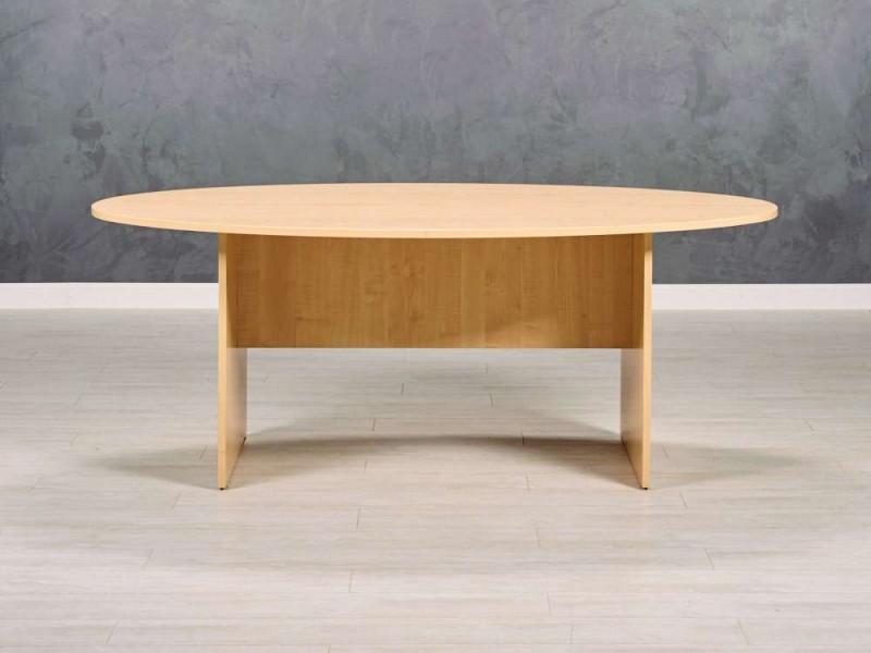 Стол в переговорную овальный