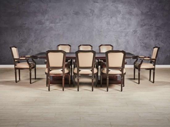 Стол переговорный со стульями