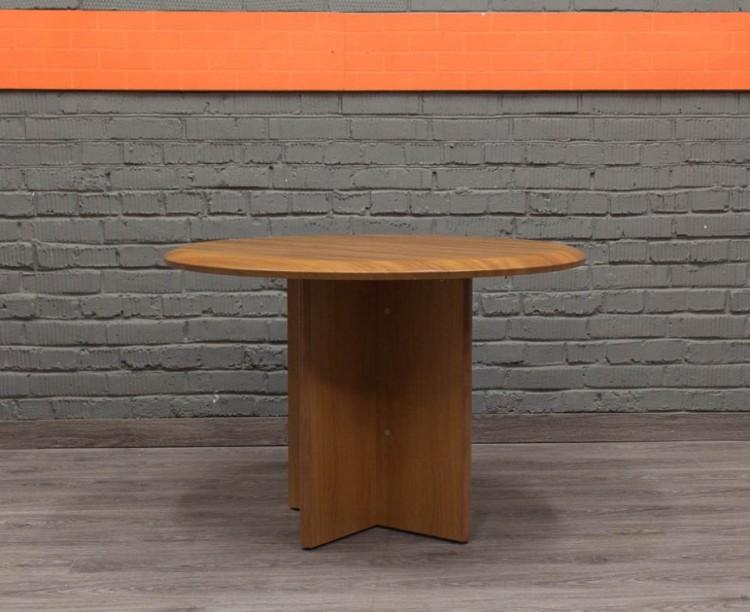 Круглый кофейный, обеденный стол
