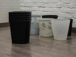 Корзины для мусора в ассортименте. Офисная мебель бу
