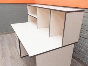 Компьютерный стол новый, дуб