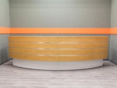 Ресепшн, стойка администратора офисная мебель бу