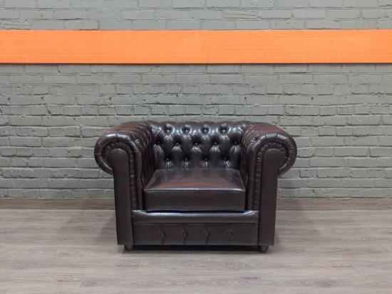 Новое кресло из экокожи Честер