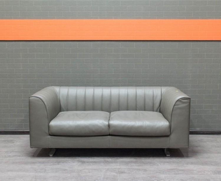 Диван кожаный Quilt Tacchini, Италия Офисная мебель бу.