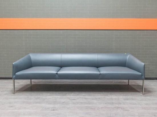 Диван Arper Saari кожа Италия Офисная мебель бу.
