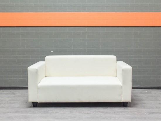 Диван белый тканевый, IKEA