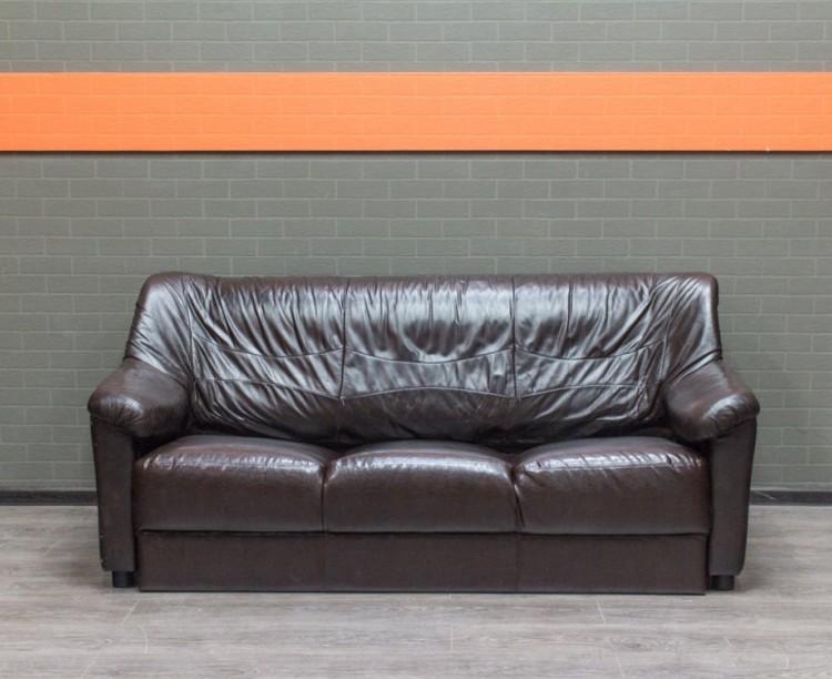 Диван комбинированный Офисная мебель бу горький шоколад