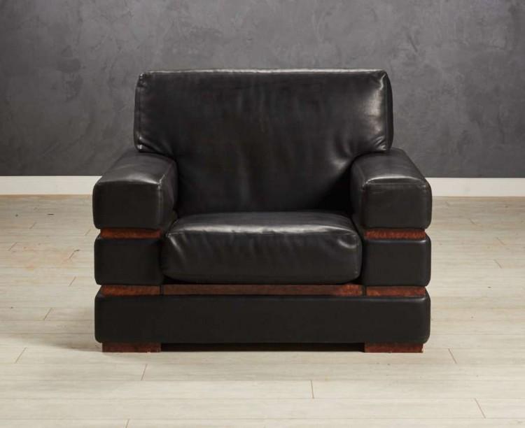 Кресло гостевое, цвет черный