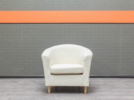 Кресло в гостиную IKEA, белое