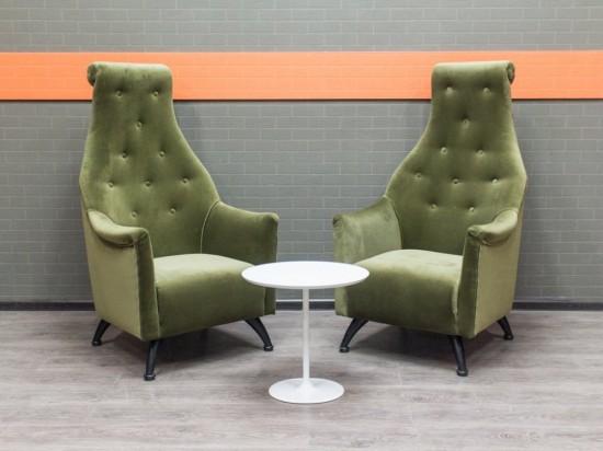 Офисная мебель бу Мягкие кресла в гостиную, приемную, велюр