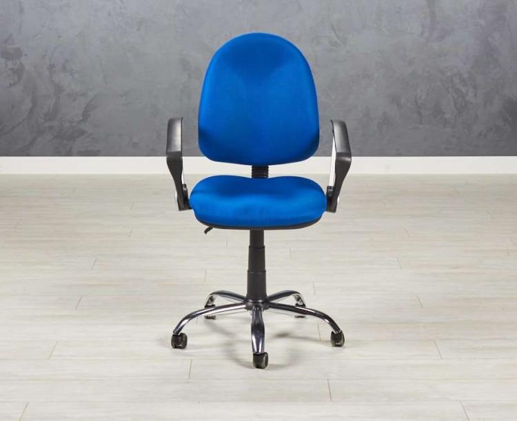 Кресло для персонала синее