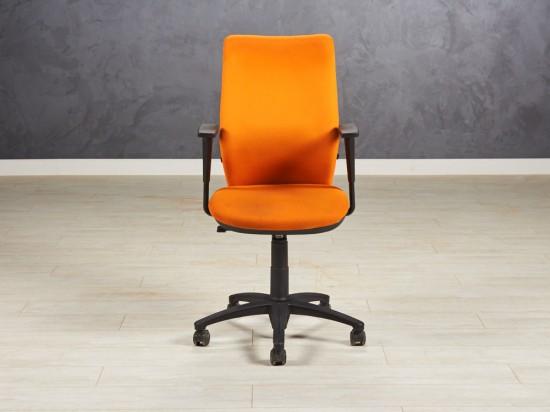 Кресло офисное Италия оранжевое