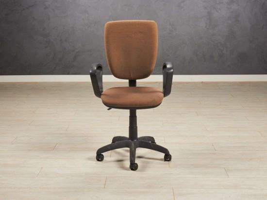 Кресло офисное коричневое