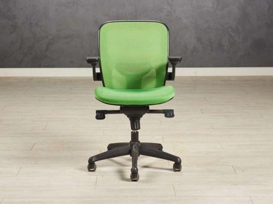 Кресло компьютерное,цвет зелёный