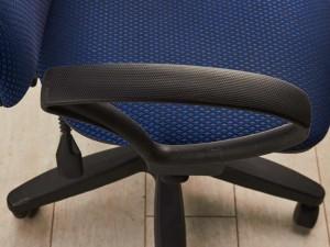 Кресло офисное синее