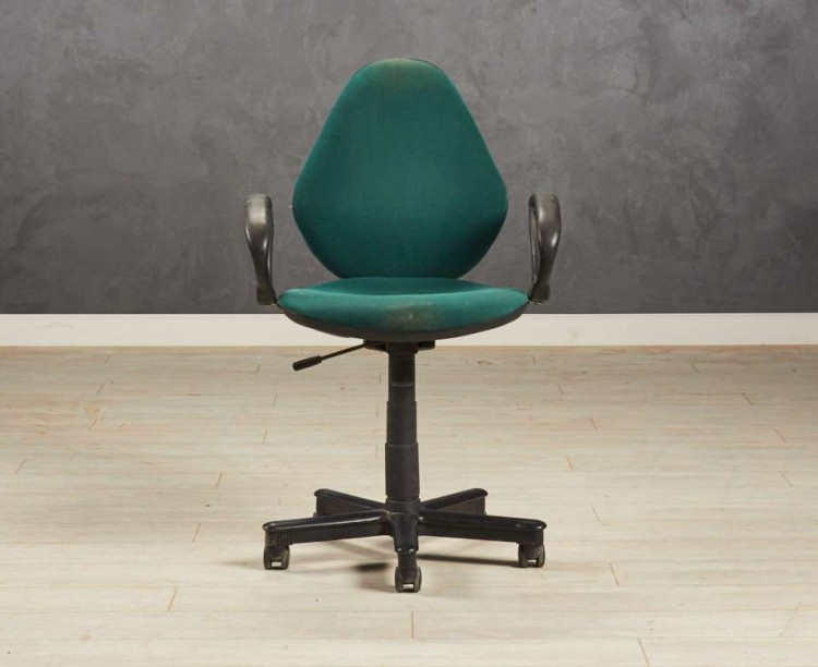 Кресло для персонала зелёное