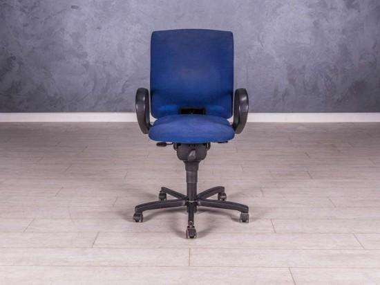 Кресло для персонала, цвет синий
