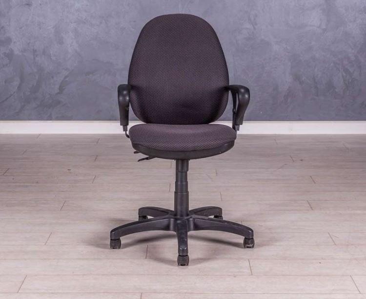 Кресло для персонала серое