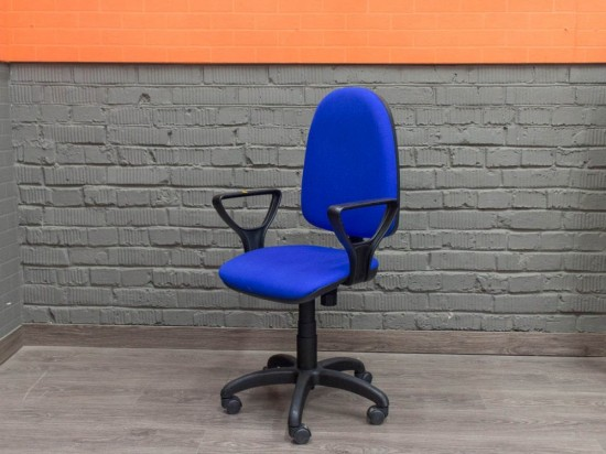 Новое компьютерное кресло Престиж, синее