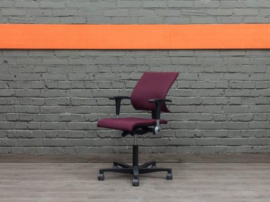 Компьютерное кресло Ahrend 240, бордовое Офисная мебель бу.