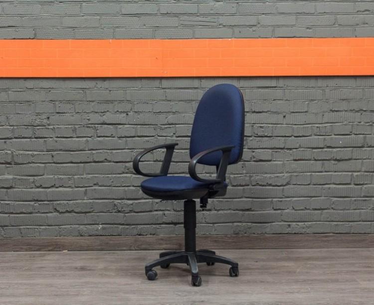 Кресло компьютерное, синее