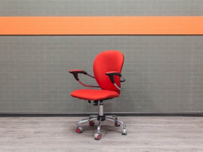 Компьютерное кресло Chairman, красное