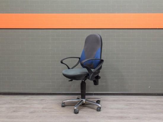 Компьютерное кресло в офис, Офисная мебель бу, ткань