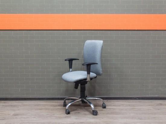 Компьютерное кресло Bene серое, офисная мебель бу