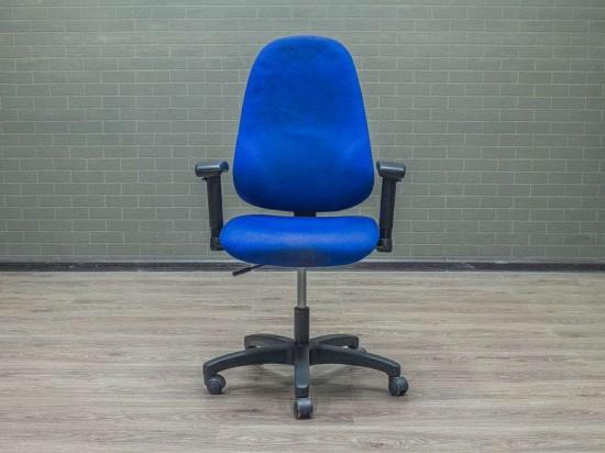 Кресло для персонала GS, синее