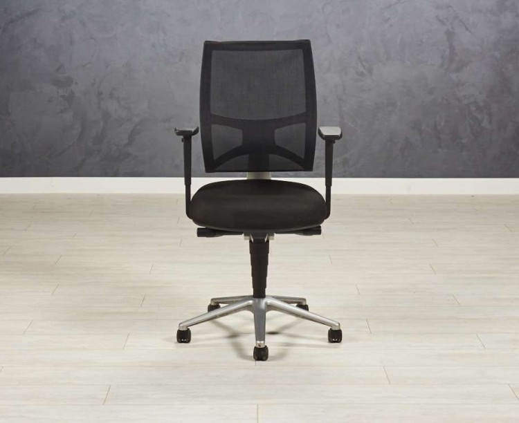 Кресло офисное Team Air Sitland для руководителя, черное