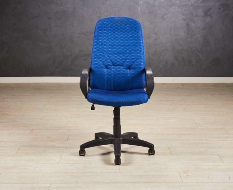 Кресло руководителя синее