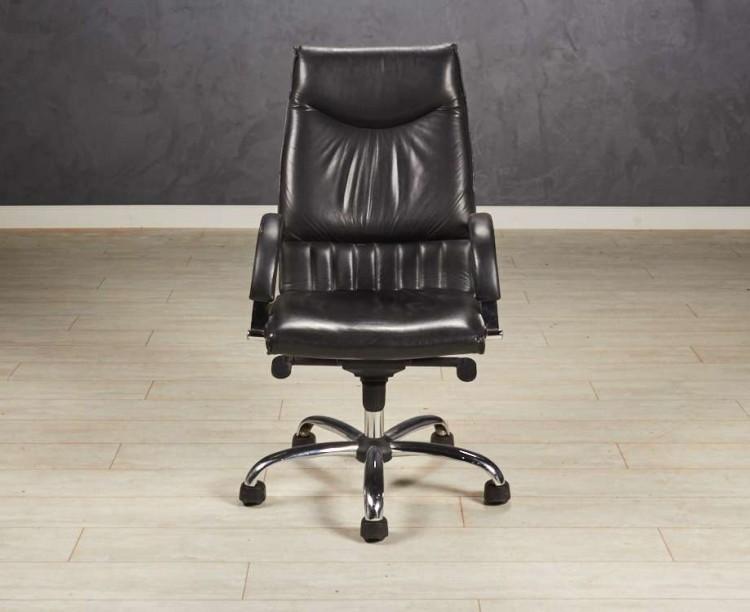Кресло руководителя Black