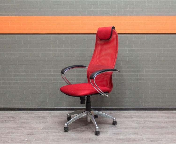 Кресло руководителя Метта BK-8, красное