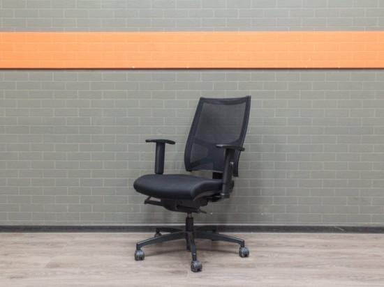 Кресло руководителя Fresh Air Sitland, Италия, черное