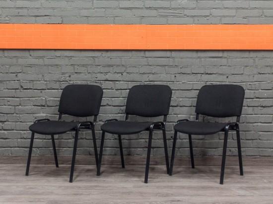 Стул офисный ISO новый, черный