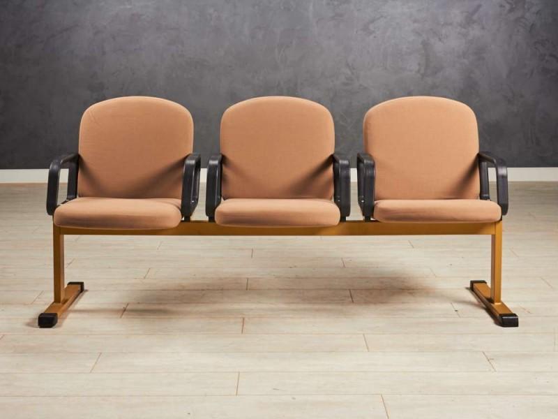 Кресло зоны ожидания трёхместное