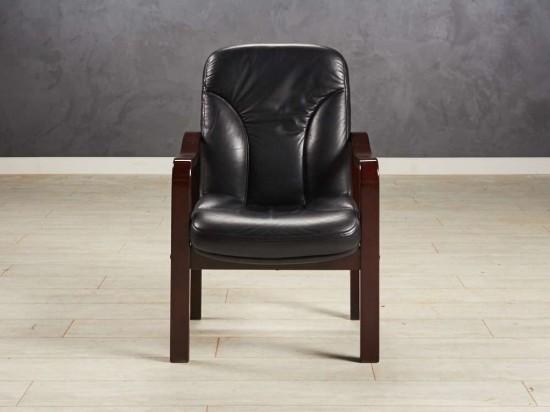 Кресло конференц чёрное