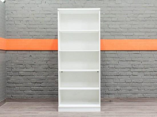 Белый офисный стеллаж для документов