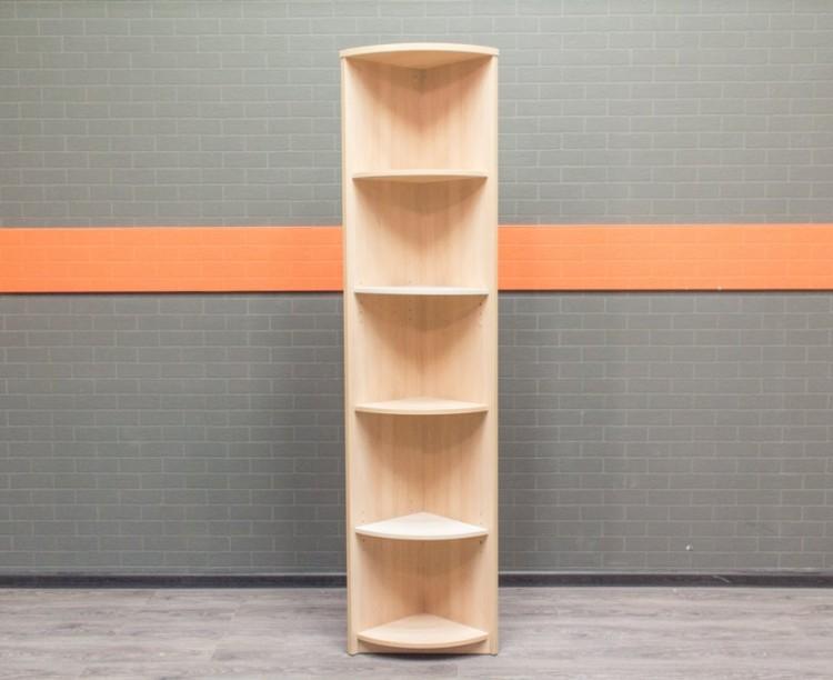 Стеллаж угловой узкий Офисная мебель бу бук