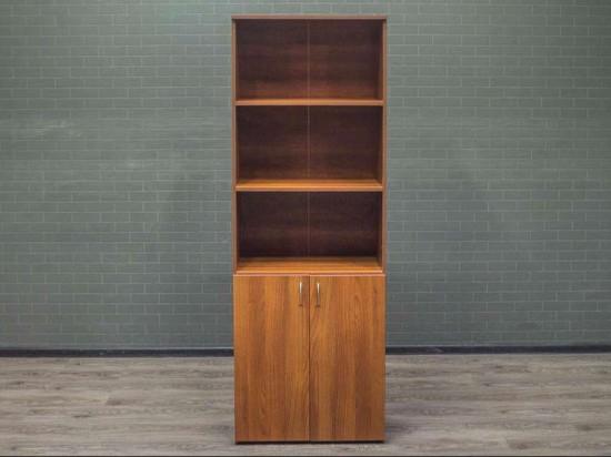 Шкаф офисный для документов ЛДСП орех