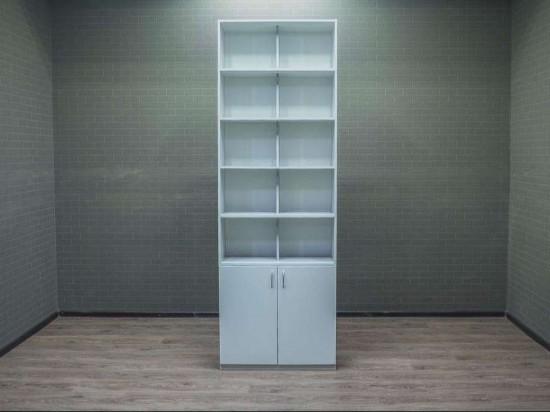 Шкаф офисный для документов серый
