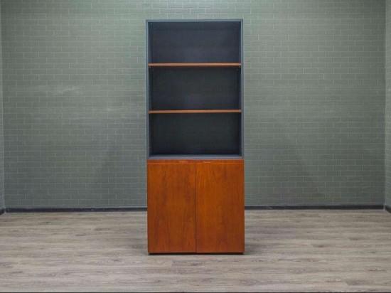 Шкаф офисный для документов полуоткрытый