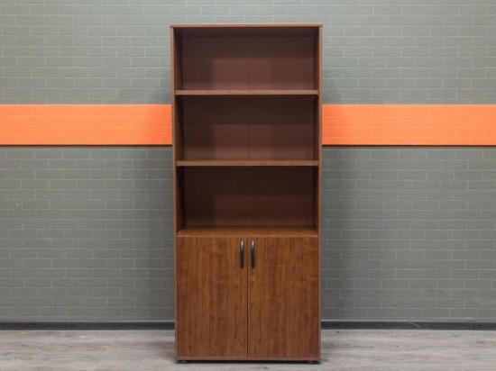 Шкаф стеллаж для документов, орех
